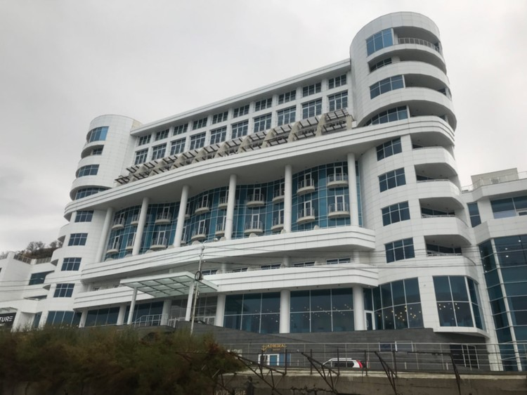 Отель, который построил Александр Лебедев.