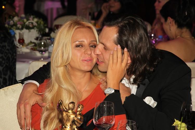 Александр Ревва с женой на премии Moda Topical в 2011 году