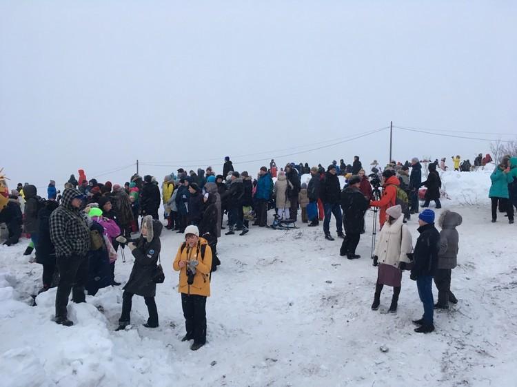 В акции поучаствовало почти две тысячи человек.