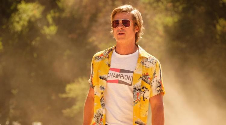 Брэд Питт в фильме «Однажды … в Голливуде».