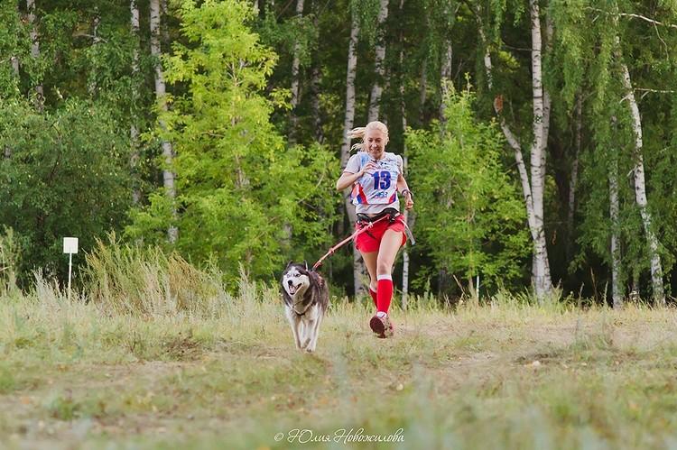 Майя стала для сибирячки толчком к занятиям бегом. Фото: Юлия НОВОЖИЛОВА.