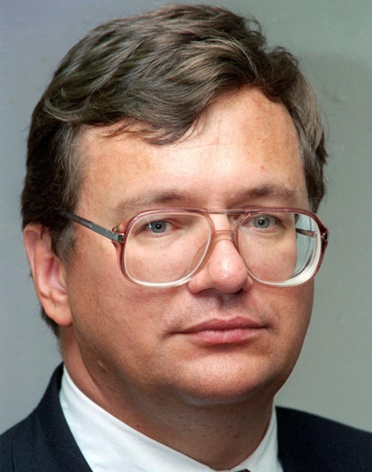 1998 год. Борис Федоров назначен новым руководителем Госналогслужбы. Фото ТАСС