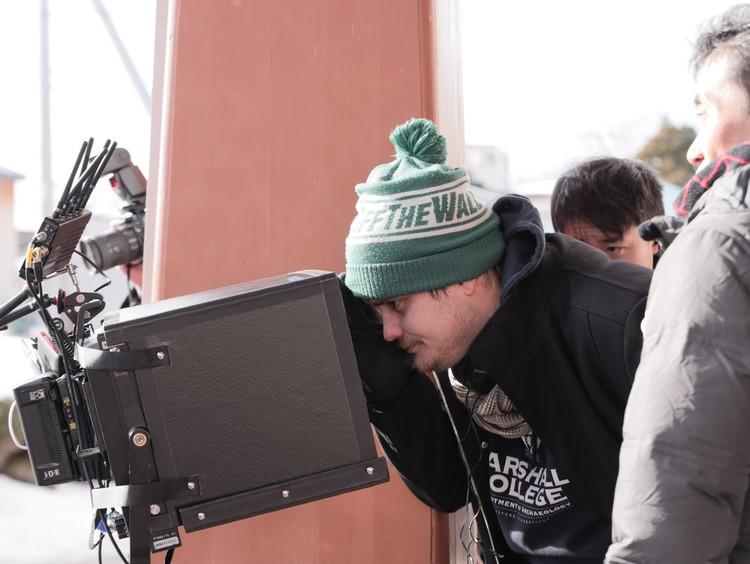 Александр Домогаров-младший за камерой. Работает.