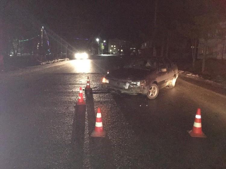 По словам водителя авто, участок дороги был темным, разметка отсутствовала. Фото: УГИБДД по Тверской области