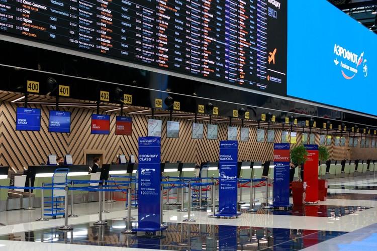 Первым новый терминал С принял рейс Аэрофлота из Хельсинки. К июню авиакомпания переведет в него основную часть рейсов. Фото предоставлено пресс-службой ПАО «Аэрофлот».