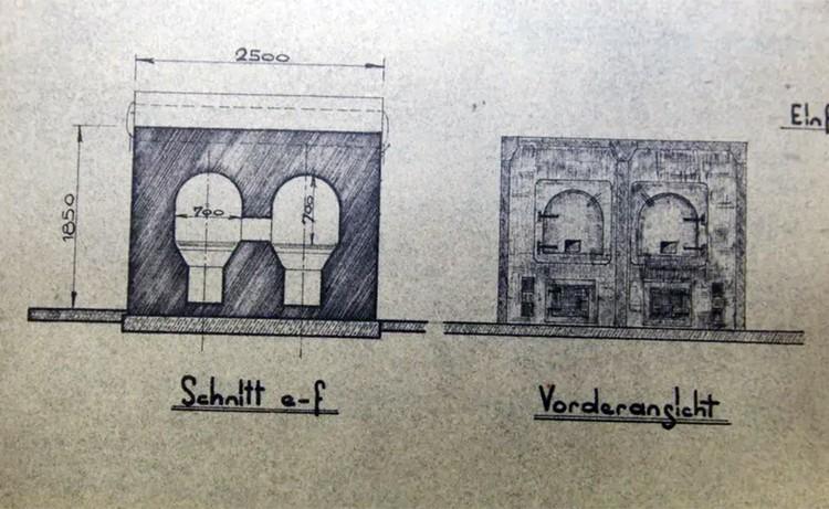 Инженеры неоднократно проводили тесты и эксперименты с лагерными печами и газовыми камерами. Фото из архива Министерства Госбезопасности СССР