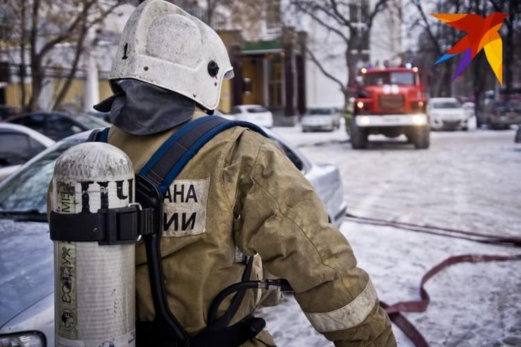 Врачи обследовали Дамира после того, как он надышался дымом, и отпустили домой.