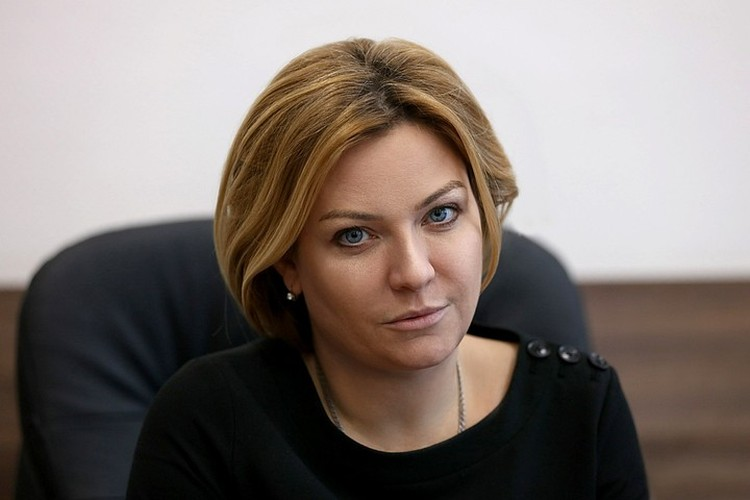 Министр культуры Ольга Любимова.