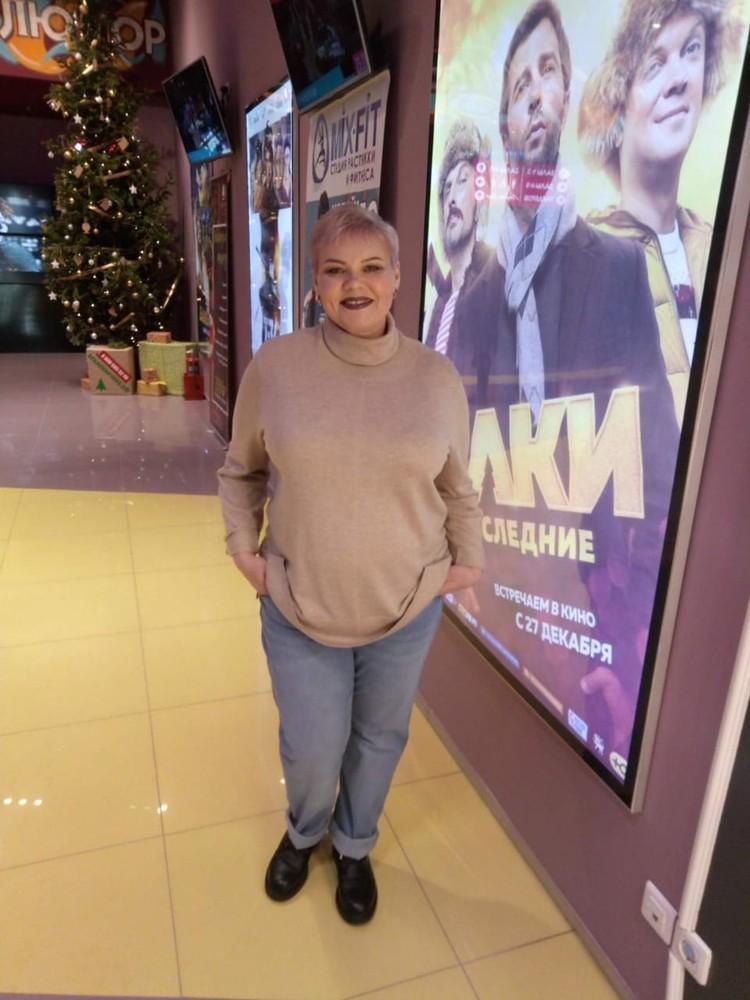 За время болезни женщина сильно похудела. Фото: личный архив.