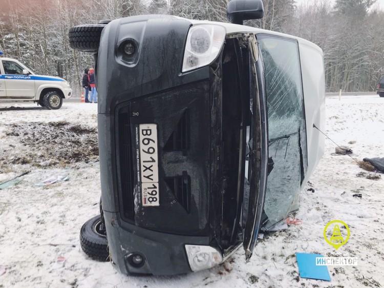 В ДТП пострадали пять человек Фото: Дорожный инспектор