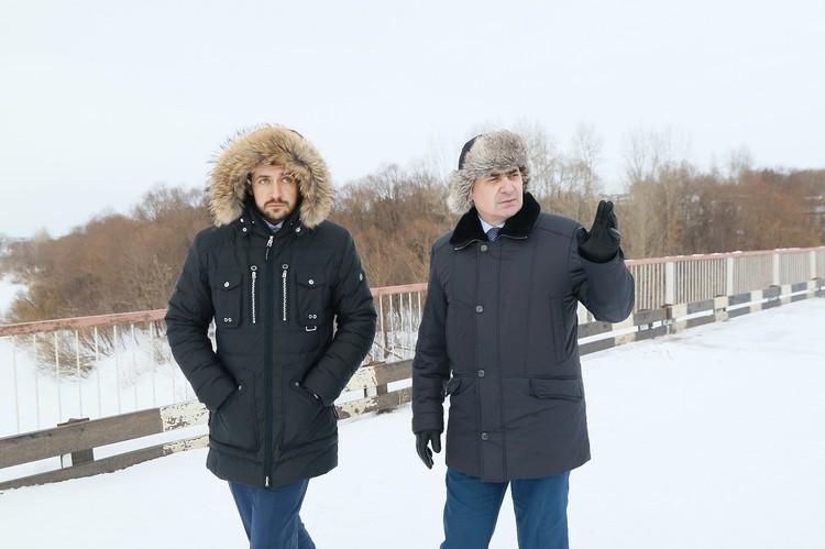 Александр Прокопьев и Виктор Азгалдян
