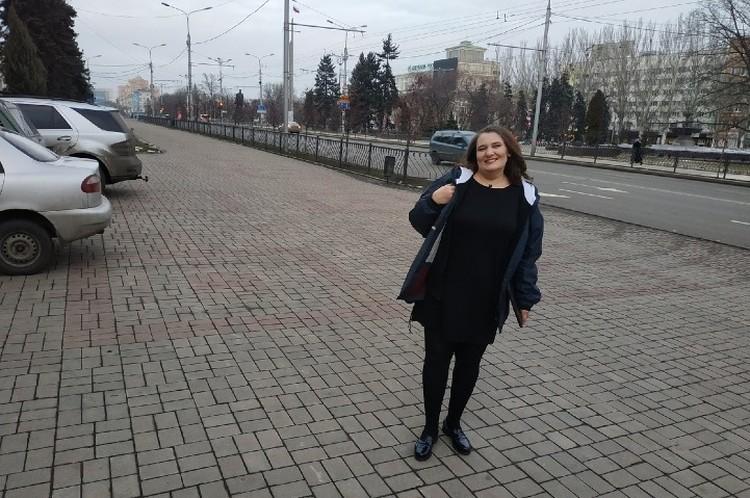 Известный киевский адвокат и блогер Татьяна Монтян уже несколько дней гостит в столице Донецкой Народной Республики