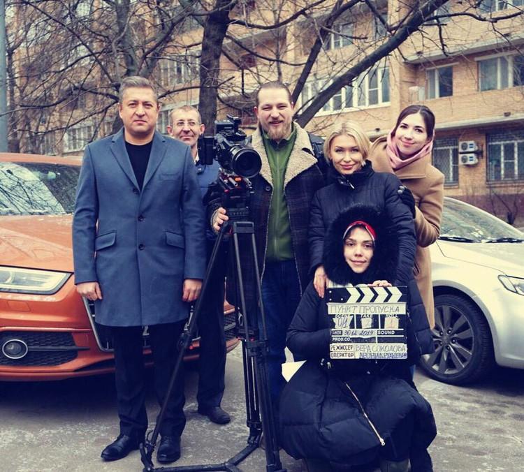 В кадр случайные люди не попадают. Только актеры и массовка. Фото: предоставлено Верой Соколовой