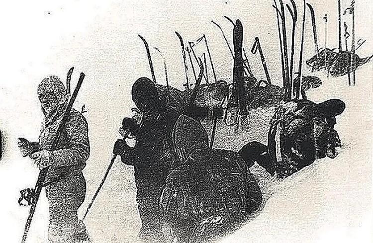 В горах Северного Урала пропали девять туристов, ушедших в поход под руководством Игоря Дятлова.ФОТО из архива фонда памяти группы Дятлова.