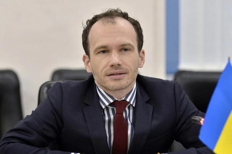 Глава министерства юстиции незалежной Денис Малюська
