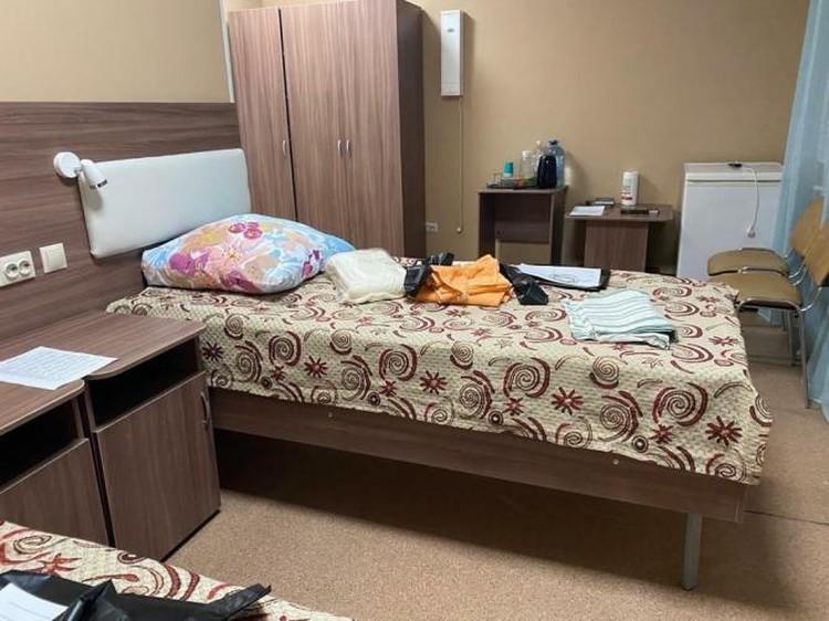 В санатории для люде приготовили всё необходимое. Фото: Оперативный штаб