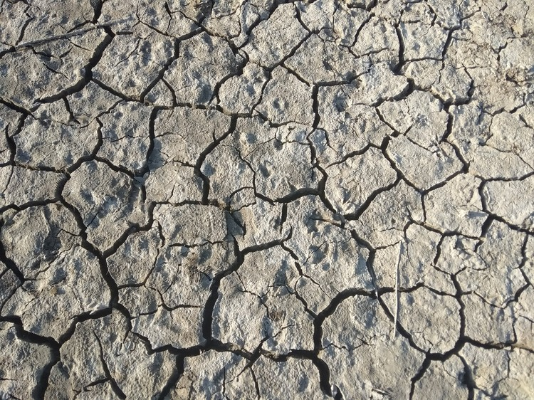 Уровень воды в водохранилищах на очень низком уровне
