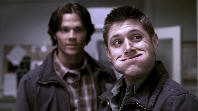 По сериалу, Сэма прозвали лосем, а Дина - белкой. Понять, кто есть кто, несложно. Фото: YouTube
