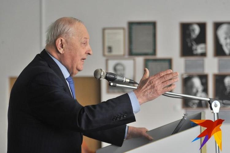 Тема выступления Эдуарда Росселя называлась «Экономическая политика Российской Федерации».