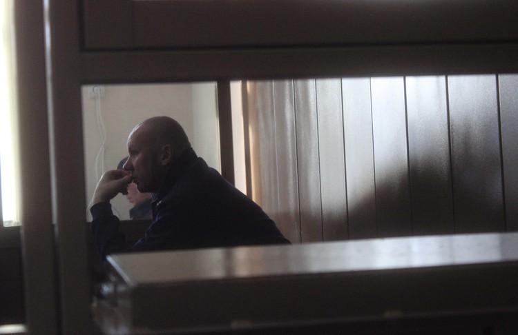 Максим Тутринов после предупреждения судьи стал вести себя сдержаннее