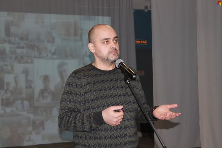Психолог «Центра СПИД» Данил Белогуб рассказал ребятам о самых главных рисках передачи ВИЧ-инфекции.