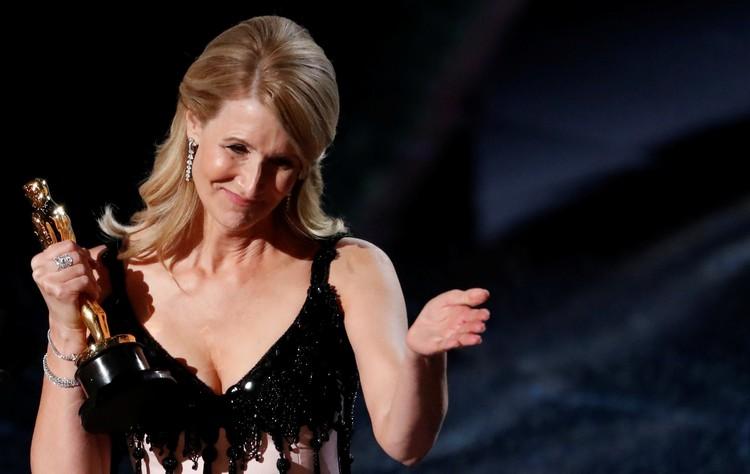 Лора Дерн получила «Оскар» как лучшая актриса второго плана