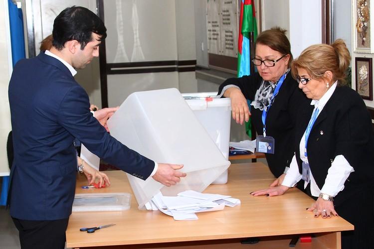 Работа избирательной комиссии.