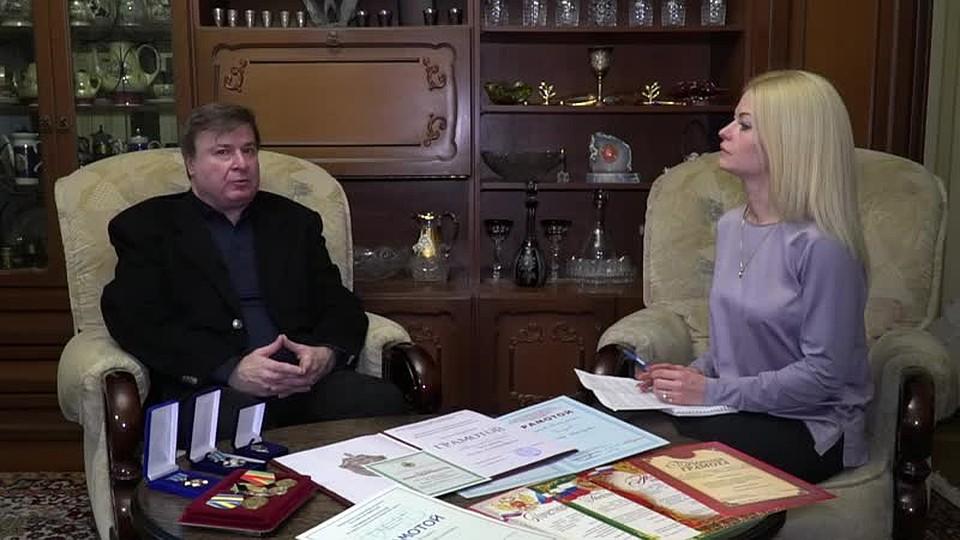 Игорь Чельдиев во время свои видеопризнаний. Фото: скриншот
