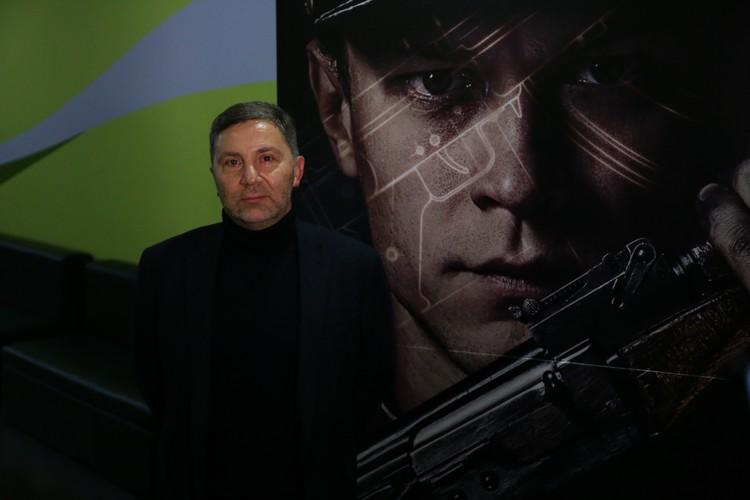 Режиссер Константин Буслов на премьере фильма