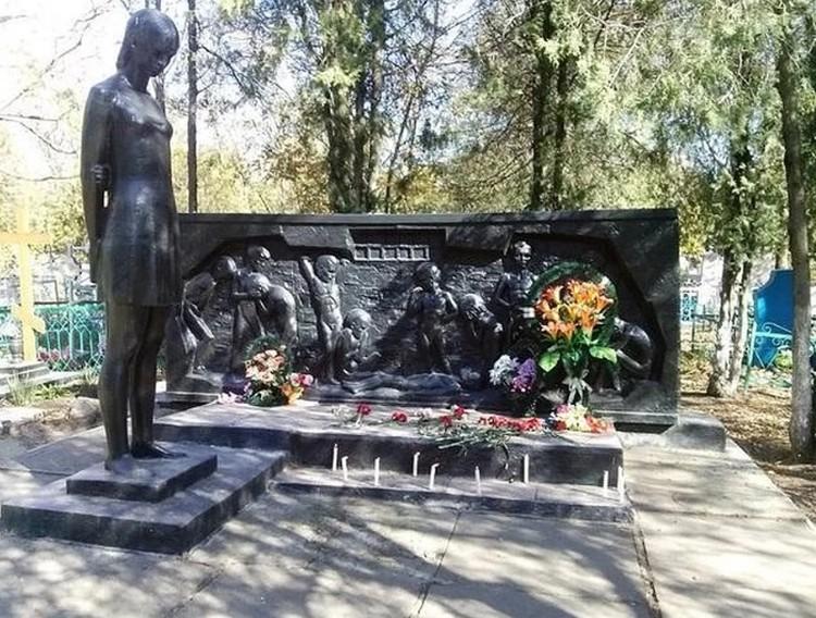 Памятник погибшим детям в Ейске