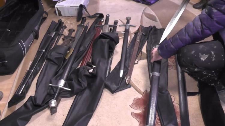 Оружие изъято Фото: ГУ МВД по СПб и ЛО