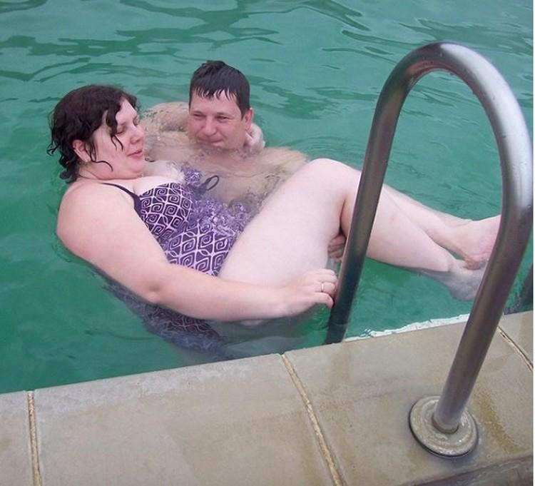 Марина с бывшим мужем. Так она выглядела еще несколько лет назад. Сейчас девушка похудела почти на 60 кило. Фото: instagram.com/marina_balmasheva/