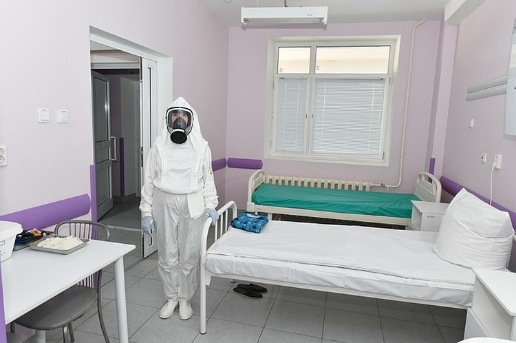 На протяжении двух недель люди будут проживать в специальных медицинских боксах Фото: пресс-служба президента Татарстана