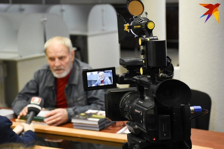 Анатолий Заболоцкий - участник и свидетель многих событий поистине золотого века для белорусского кино.