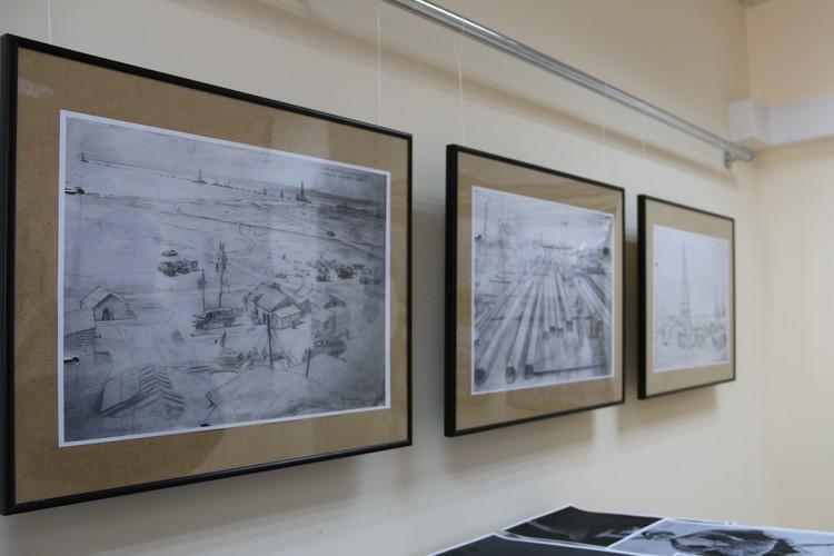 Картины представлены в симферопольском музее имени Франко