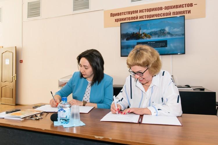 10 марта Светлана Кудерева подписала соглашение о передаче коллекции архиву