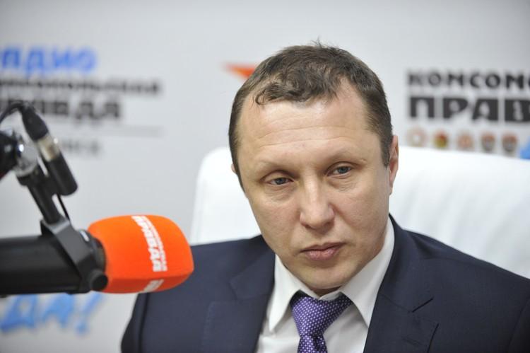 Михаил Сидоров, председатель городской думы Хабаровска