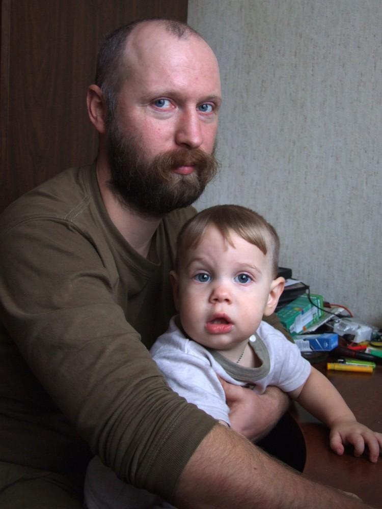 Праправнук писателя и его сын Федор Достоевский Фото: предоставлено Алексеем Достоевским