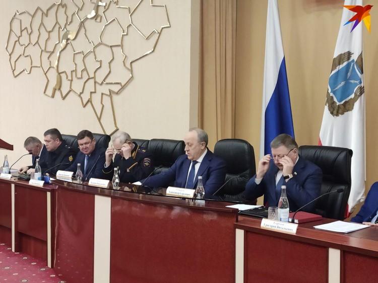 Состоялось первое заседание координационного совета по противодействию коронавирусу