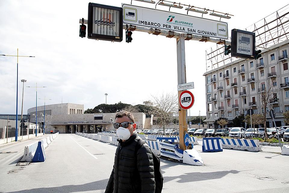 Италия находится на карантине Фото: REUTERS