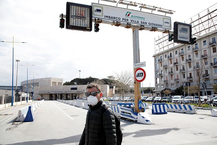 Италия находится на карантине