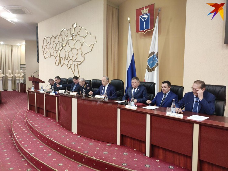 Валерий Радаев провел заседание координационного совета
