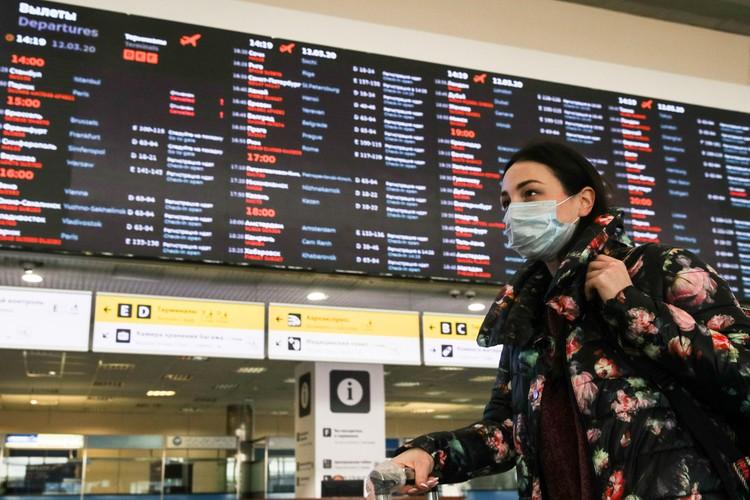 При этом официальный представитель МИД отметила, что, несмотря на активную работу диппредставительств, все россияне не прибудут на родину. Фото: Сергей Бобылев/ТАСС