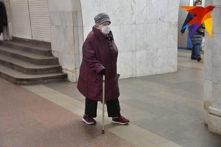 В группе риска - пожилые люди