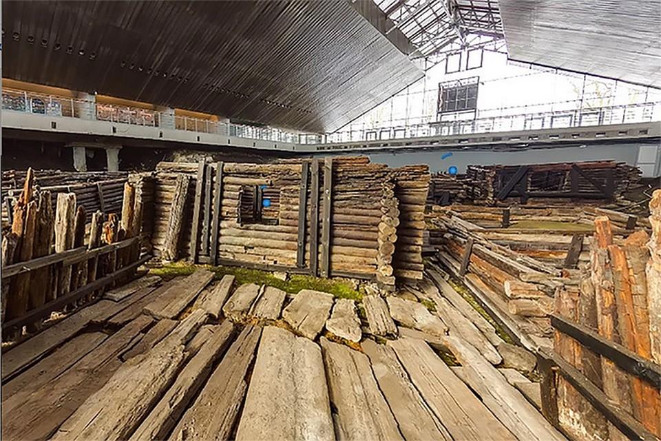 """Так выглядит древний Брест в музее """"Берестье"""". Фото: atmasfera.by"""