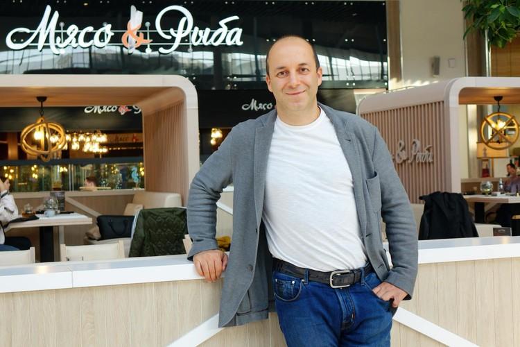Сергей Миронов, основатель ресторана Мясо&Рыба.