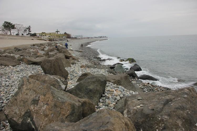Пляж Имеретинской низменности
