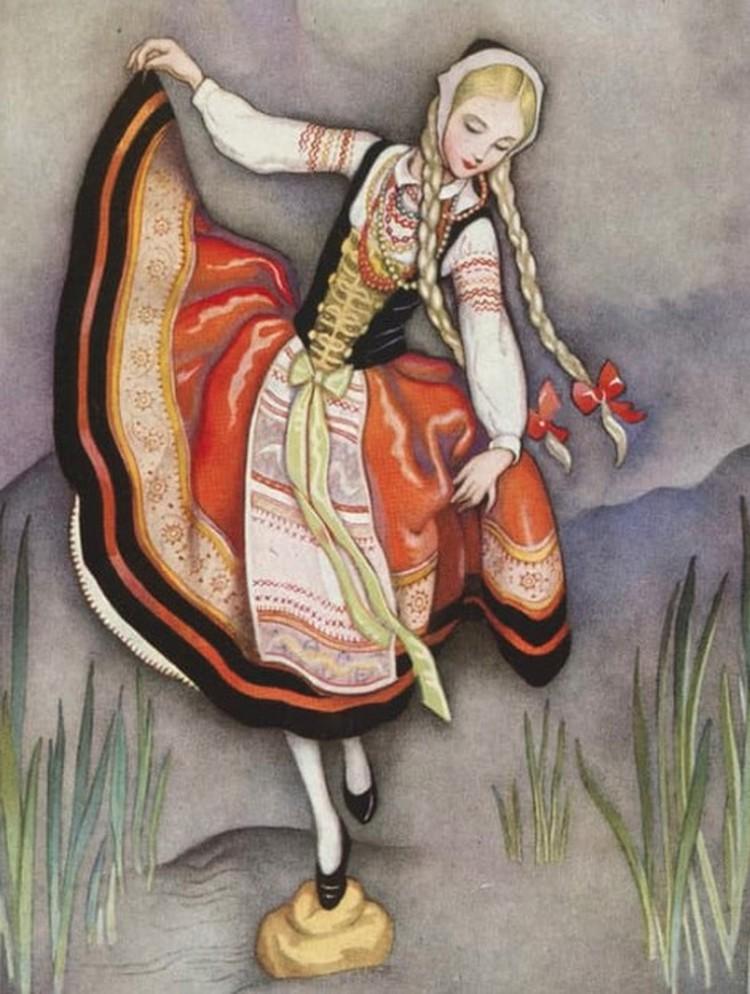 «Девочка, наступившая на хлеб» - далеко не самая известная в России сказка писателя.