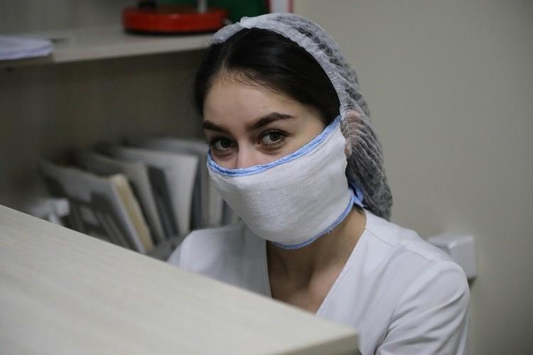 Такие же маски предлагают нам шить аптекари