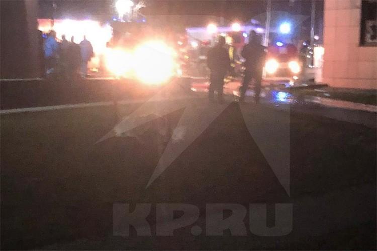 Жертвами пожара стали два человека. Фото очевидца